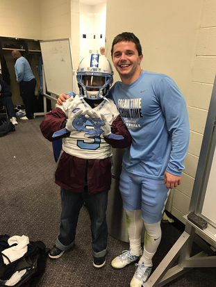 Ryan Switzer's act of kindness creates lifelong bond