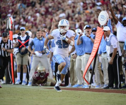 The long, winding path of North Carolina WR Thomas Jackson